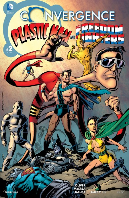 Convergence - Plastic Man and the Freedom Fighters2