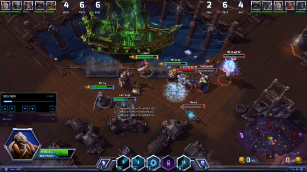 Heroes of the Storm spectator mode