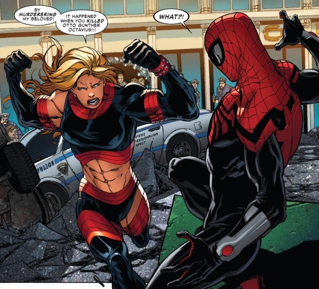 Superior Spider-Man 21 Stunner Maciza