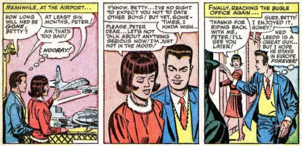 The Amazing Spider-Man 20 Peter Parker egoista Betty Brant Ditko