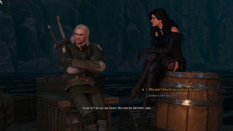 Witcher 3 Geralt Yennefer