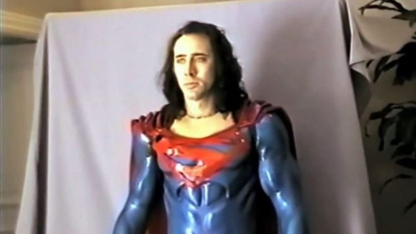 Cage Superman Lives