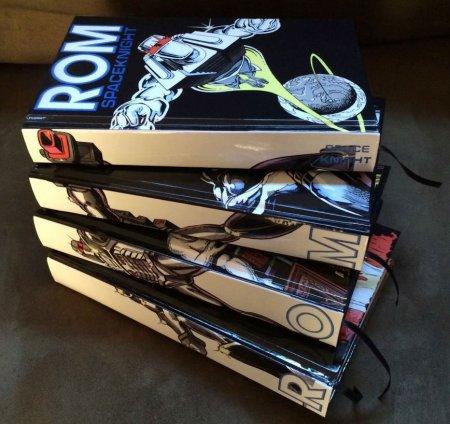 Chris Ryall -custom-rom-hardcovers-