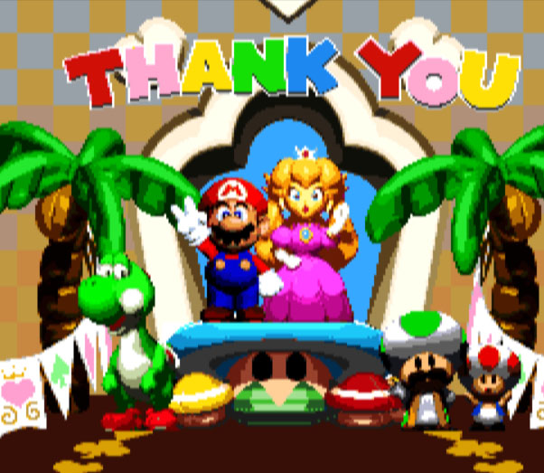 Mario RPG Thank You