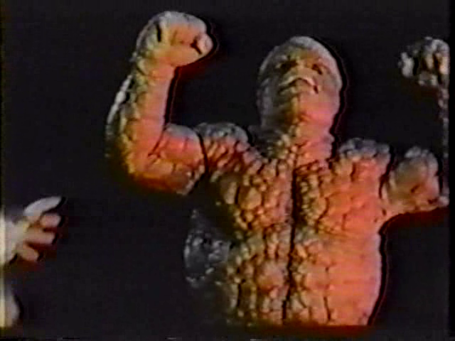 Fantastic Four Corman Ben furiosito