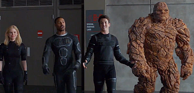 Fantastic Four Trank End