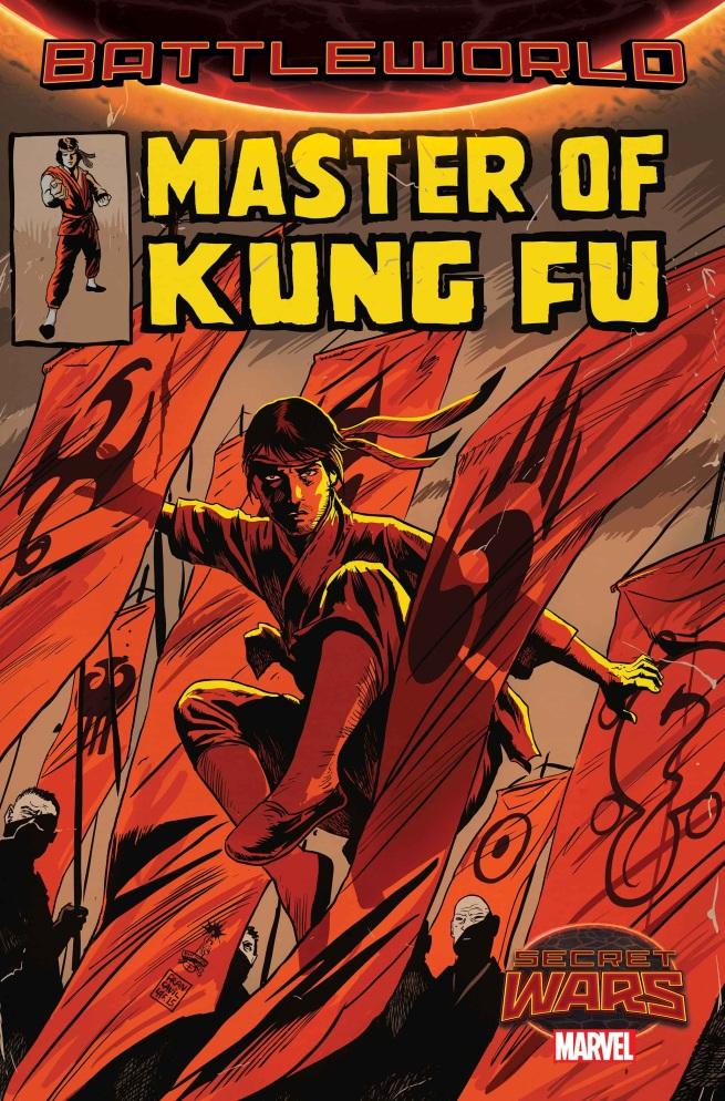 MASTER OF KUNG FU SECRET WARS