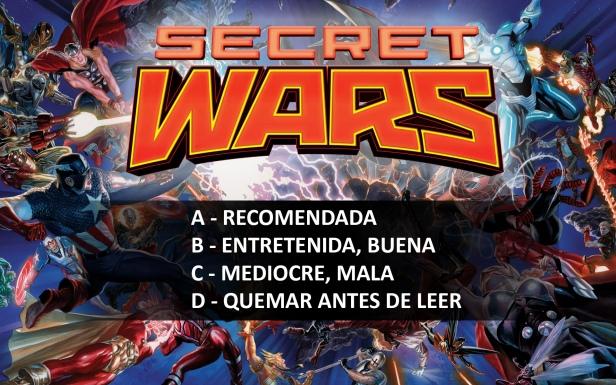 secret wars notas