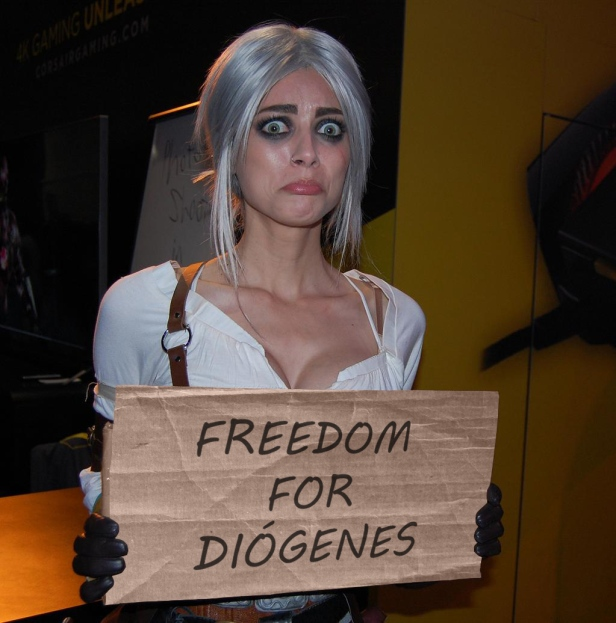 Ciri Freedom for Diógenes
