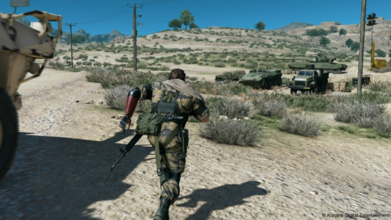 METAL GEAR SOLID V gameplay