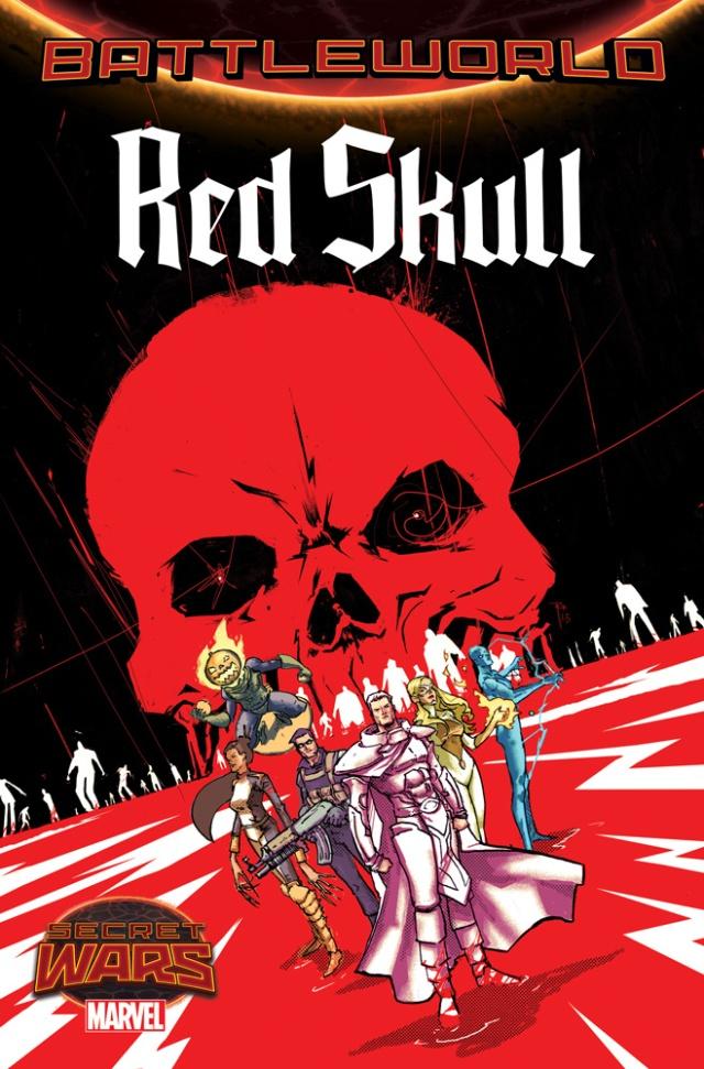RED SKULL SECRET WARS
