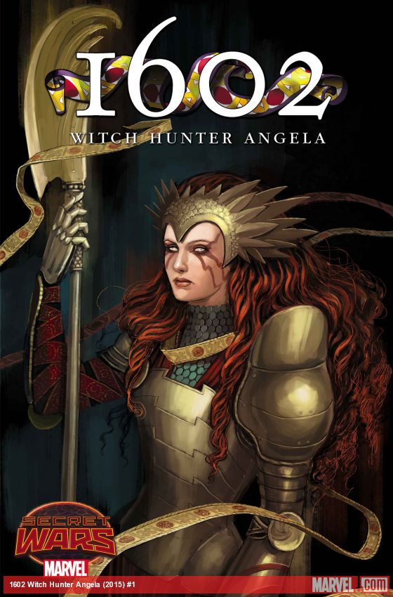 Witch hunter Angela secret wars