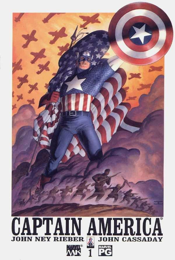 Captain America John Ney Rieber John Cassaday