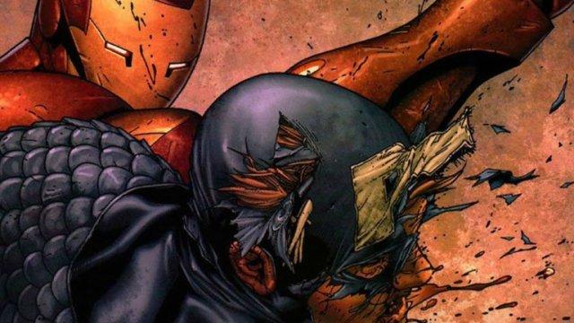 CIVIL WAR Iron man Captain America