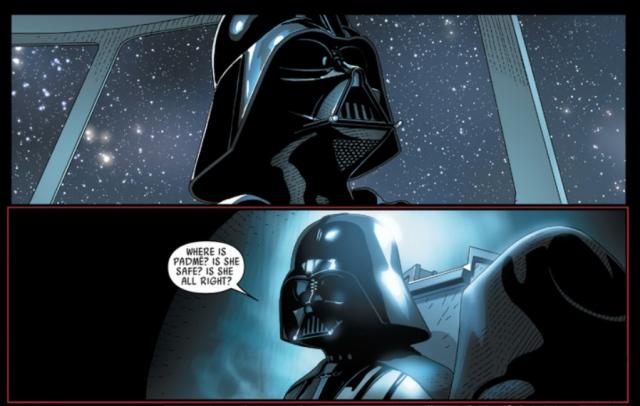 Darth Vader Larroca where is padme