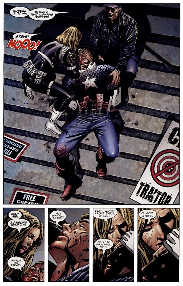 Death of Captain America Civil War