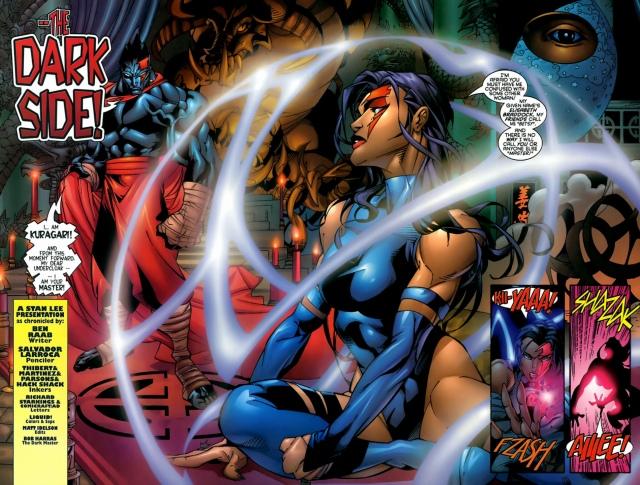Psylocke & Archangel Crimson Dawn