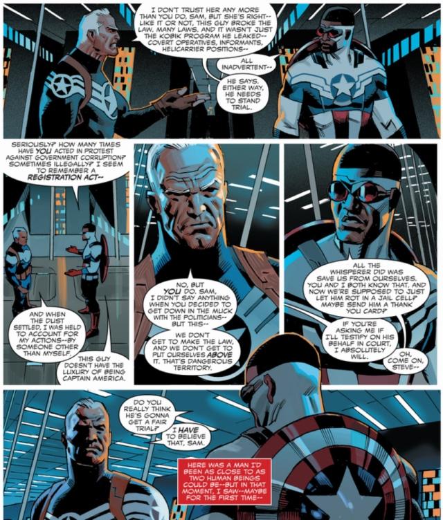 Sam Wilson Captain America 2