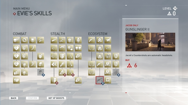 Assassins Creed Syndicate talents