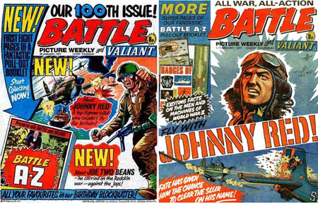 Battle-Picture-Weekly-100-johnny-red.-tom-tully
