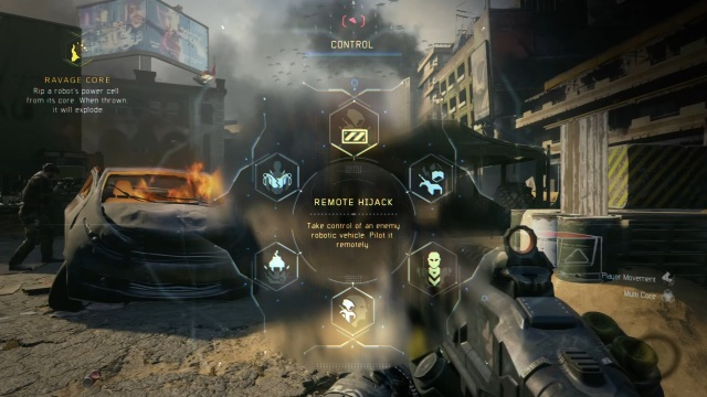 Call of Duty Black Ops III poderes