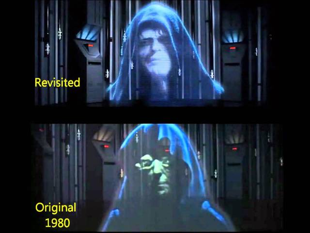 Empire Strikes Back emperor