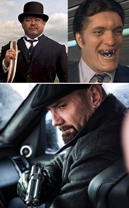 james-bond-007-spectre-bautista-mr-hinx-goldfinger-oodjob-jaws-henchmen