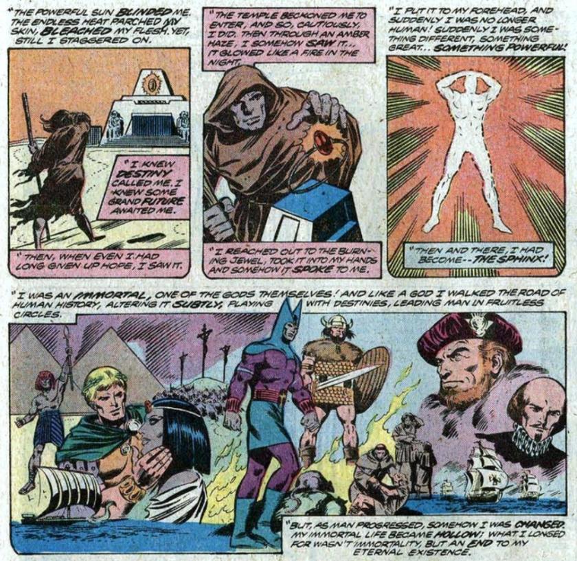 La Esfinge The Sphynx Byrne Fantastic Four
