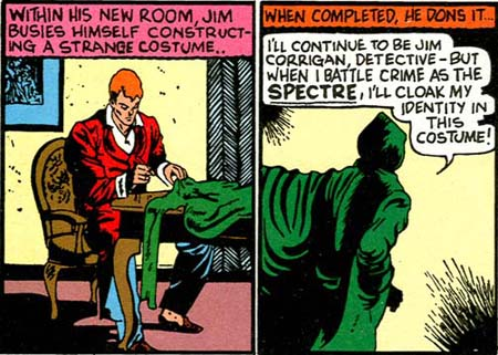 More-Fun-comics-53-spectre-jim-corrigan-sewing-costume