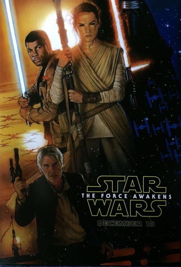 THE FORCE AWAKENS DREW STRUZAN STAR WARS