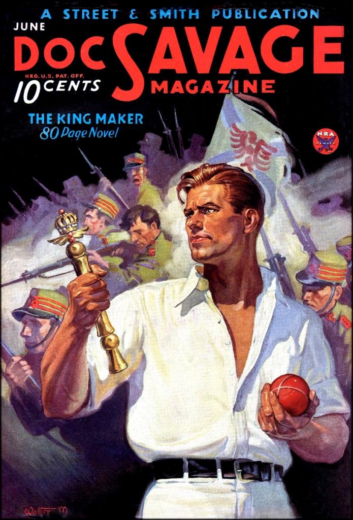 Doc Savage Kingmaker