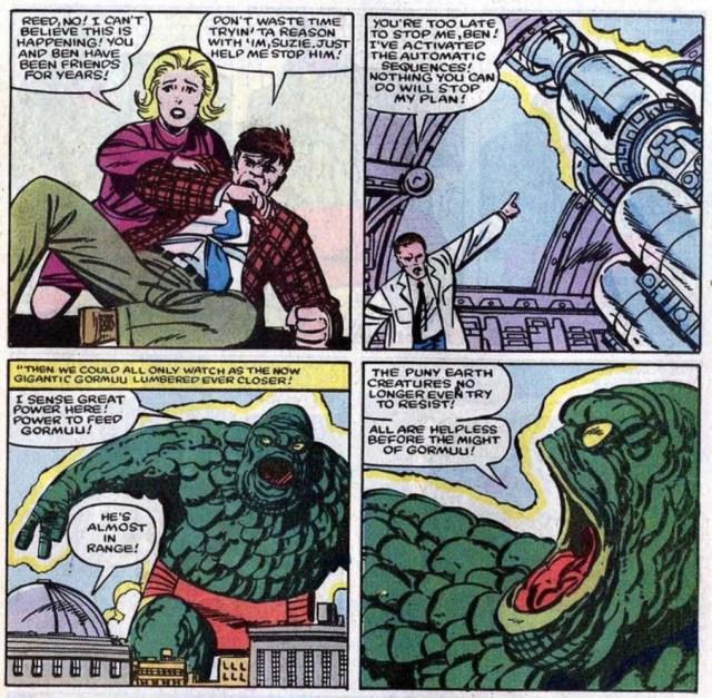 Fantastic Four Byrne Gormuu
