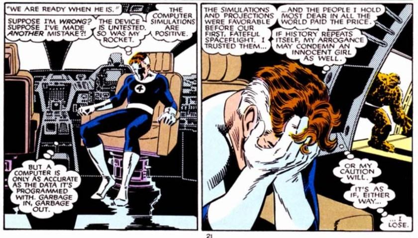 Fantastic Four VS X-Men Reed Richards