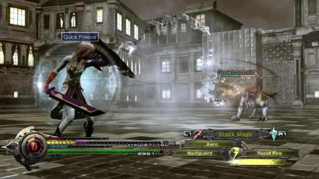 Lightning Returns Final Fantasy XIII combat combate