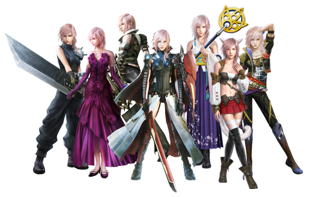 Lightning Returns modelitos