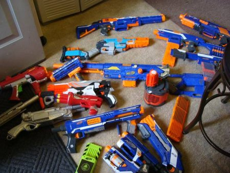 nerf-guns-collection