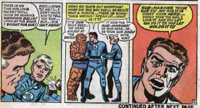 Reed Richards Kirby Fantastic Four 27