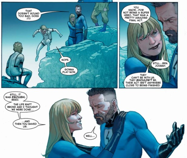 secret wars Reed Richards The End