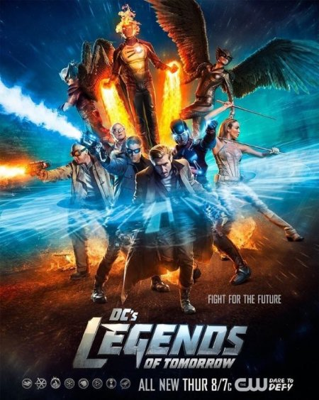 legends of tomorrow cw poster