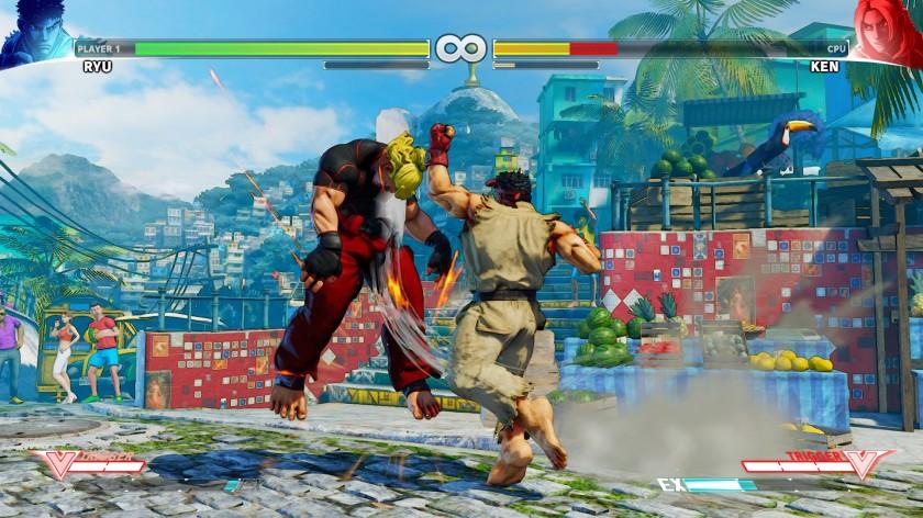 Street Fighter V Ken VS Ryu