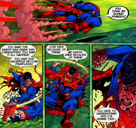 superboy-prime-kill-earth2-golden-age-superman-infinite-crisis-dc-comics
