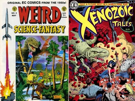 weird-science-fantasy-ec-xenozoic-tales