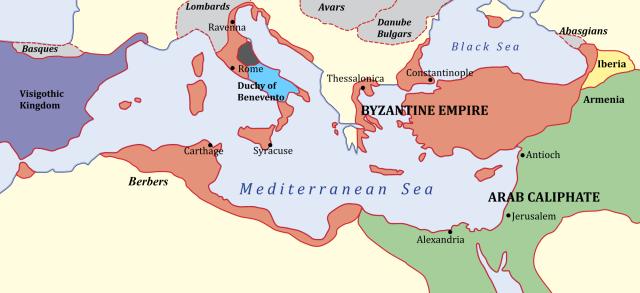 Bizancio 650 AD