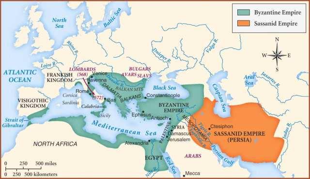 bizancio pre islam