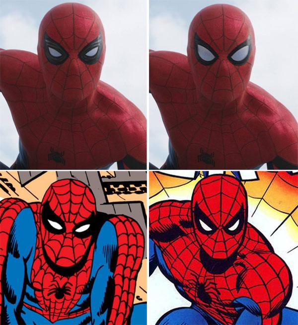 spiderman-civil-war-costume-mask-eyes-llenses-dikto-romita