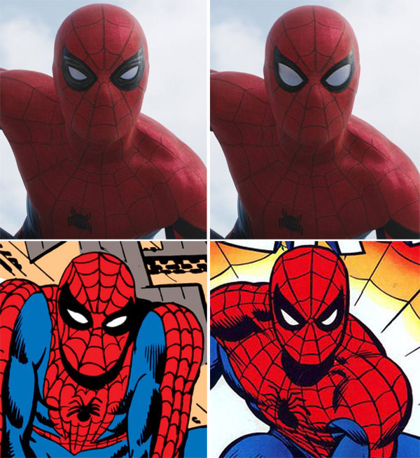 spiderman-civil-war-costume-mask-eyes-llenses-dikto-romita