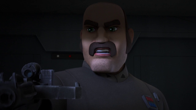 Star Wars Rebels imperial officer