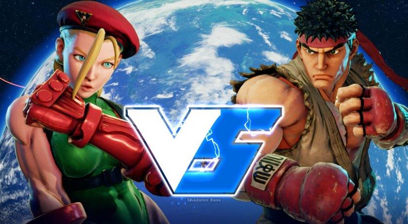 Street Fighter V Cammy VS Ryu 0