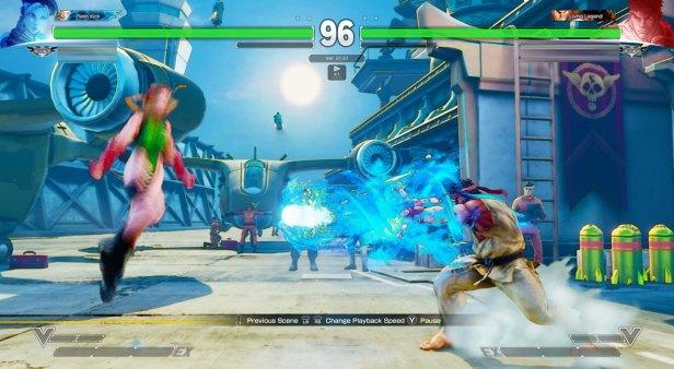 Street Fighter V Cammy VS Ryu 1