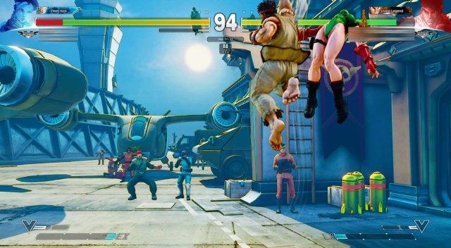 Street Fighter V Cammy VS Ryu 2